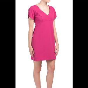 Betsey Johnson fabulous pink midi dress, NWT